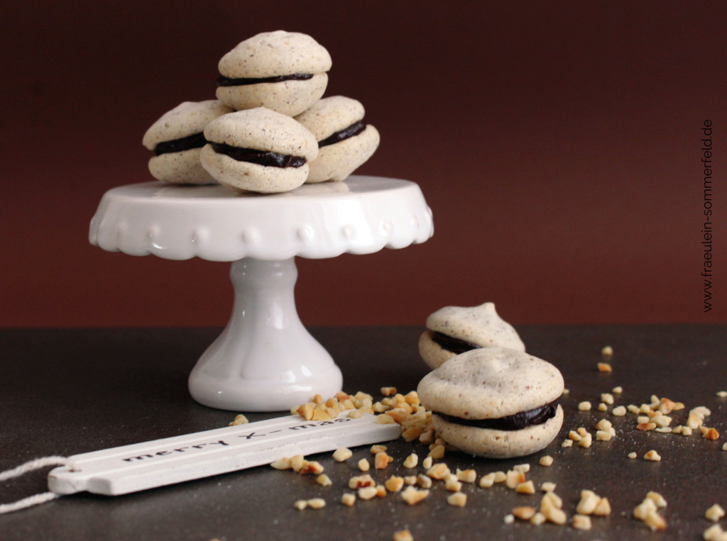 Haselnuss-Macarons