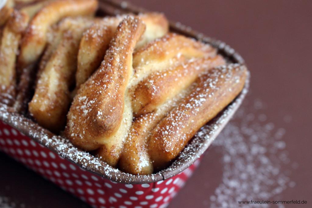 Zimt-Pull-Apart-Bread