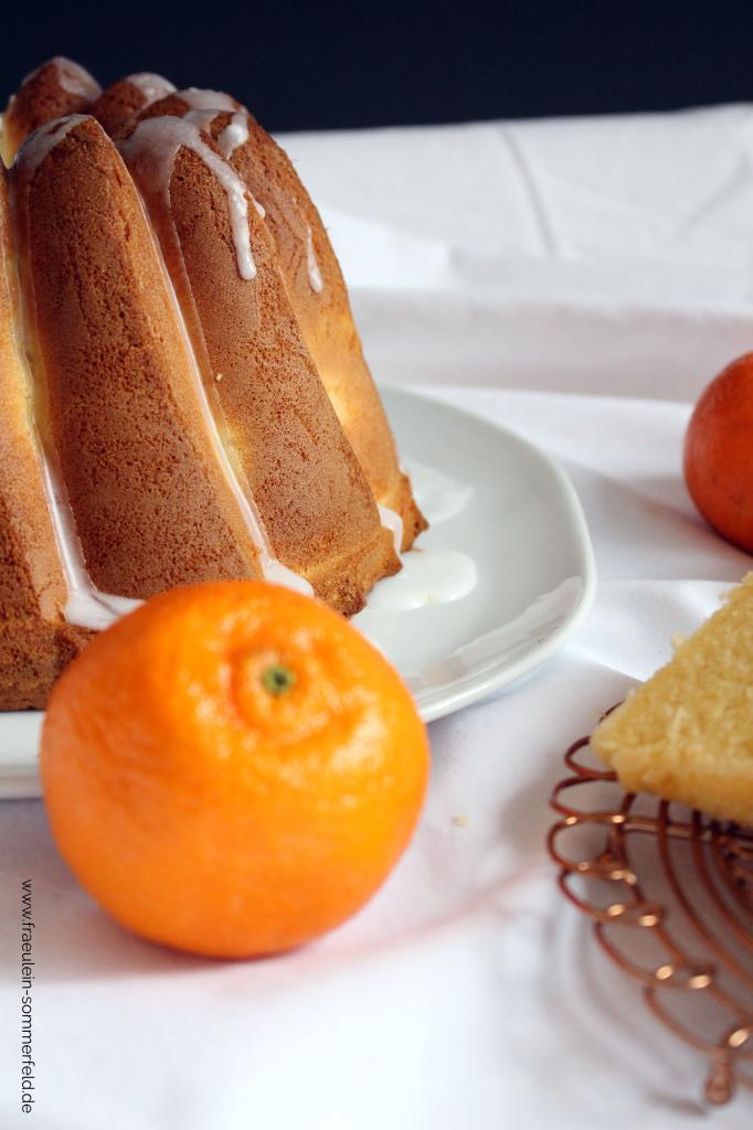 Mandarinen-Joghurt-Gugelhupf
