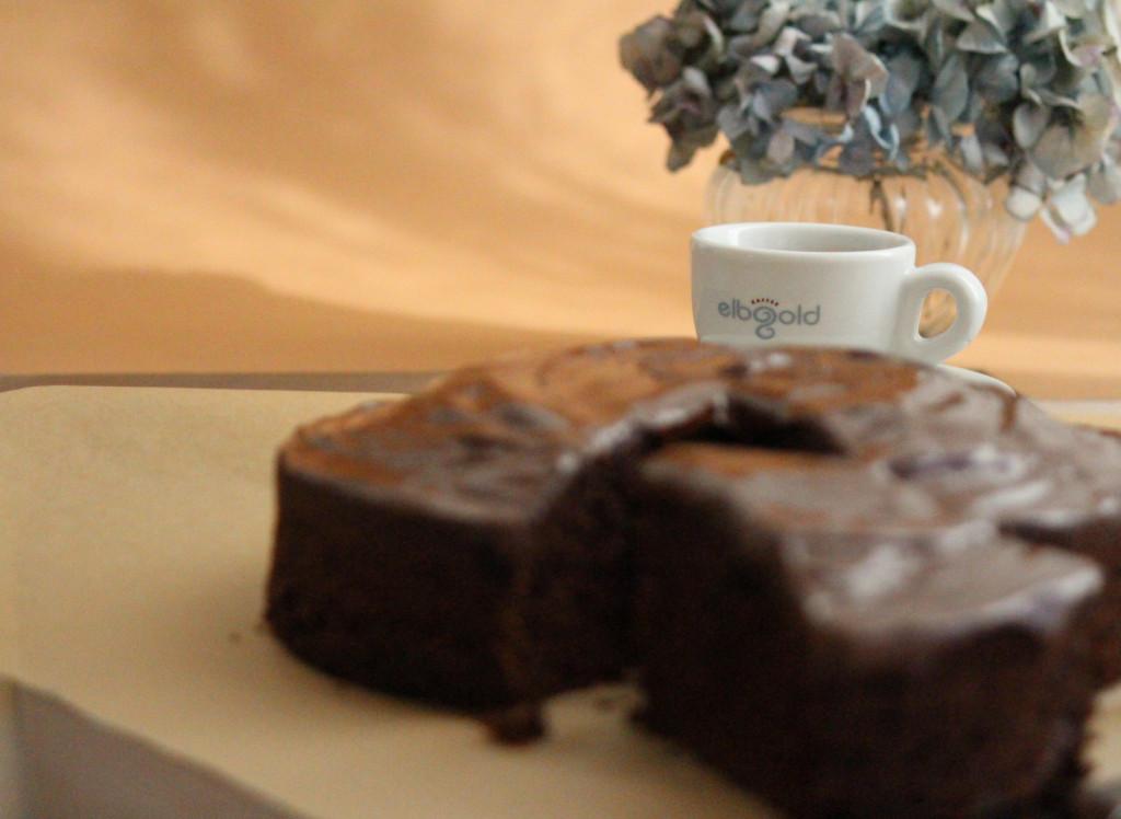 Dark Chocolate Espresso Kuchen