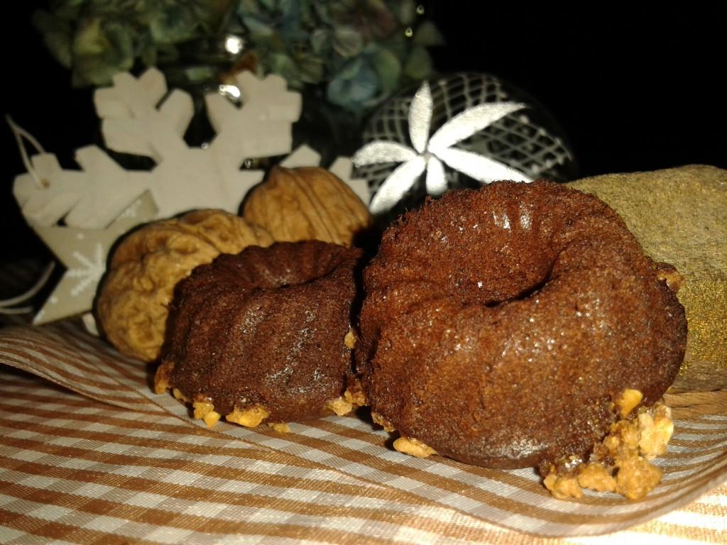 Mini-Weihnachts-Gugelhupf
